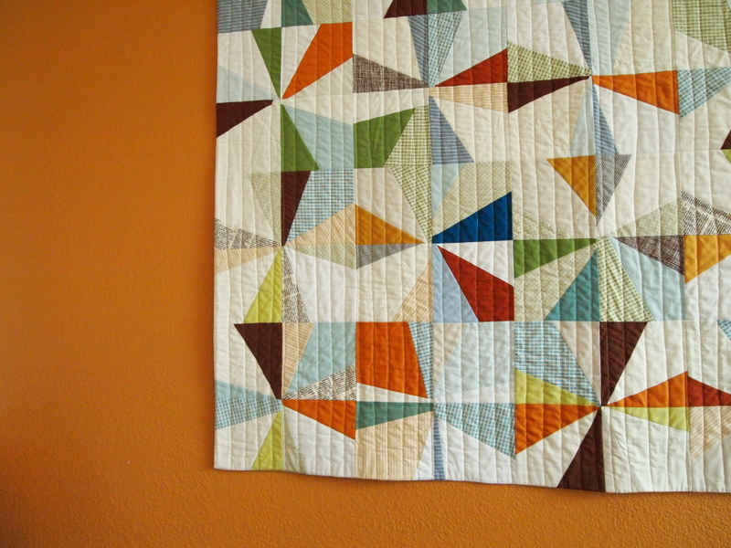 orange quilts quilt blue and pin kids pinterest modern finished