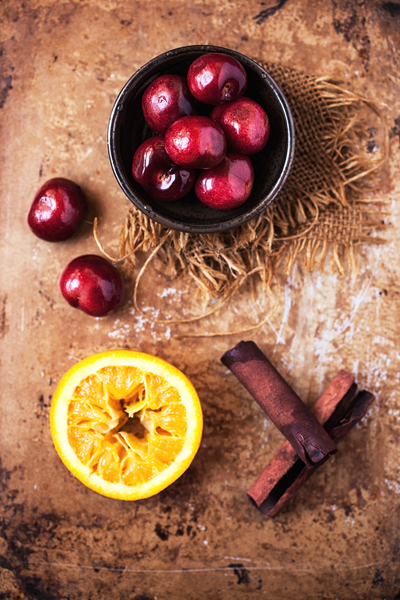 Cherries, Orange & Cinnamon