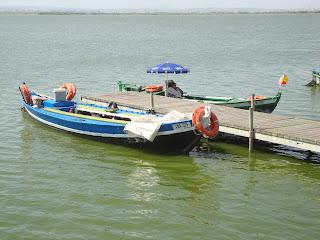 Two boats in Docks - Parc Natural de l'Albufera - El Saler - Valencia
