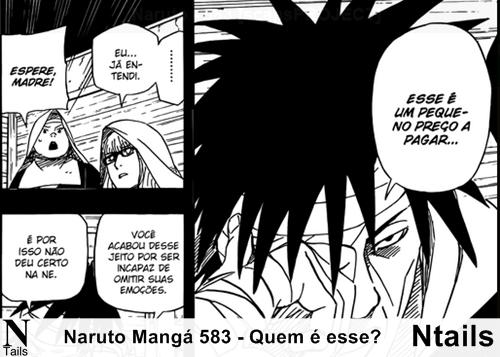Naruto Mangá 583 - Quem é esse?
