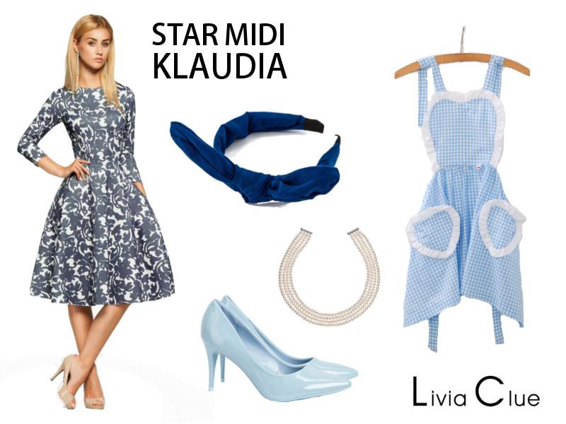 Star Midi Klaudia_styl lat 50.