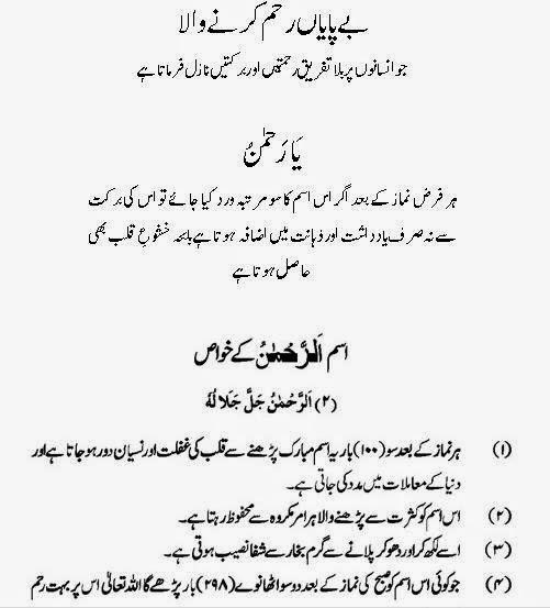 surah al rahman translation in urdu pdf