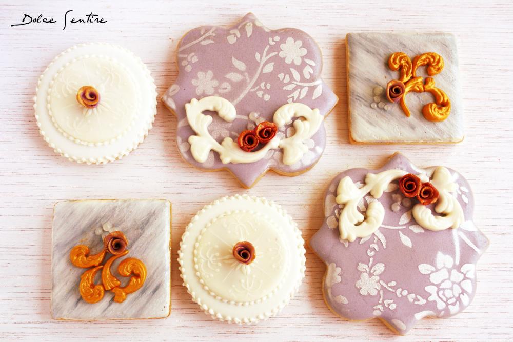 La inspiración y las galletas decoradas: Galletas mármol {Vídeo tutorial} Marbled Cookies