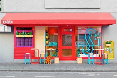restaurante colorido