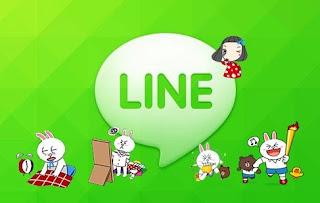 Cara membuat Line di android