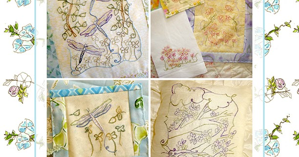 Hand embroidery pattern book