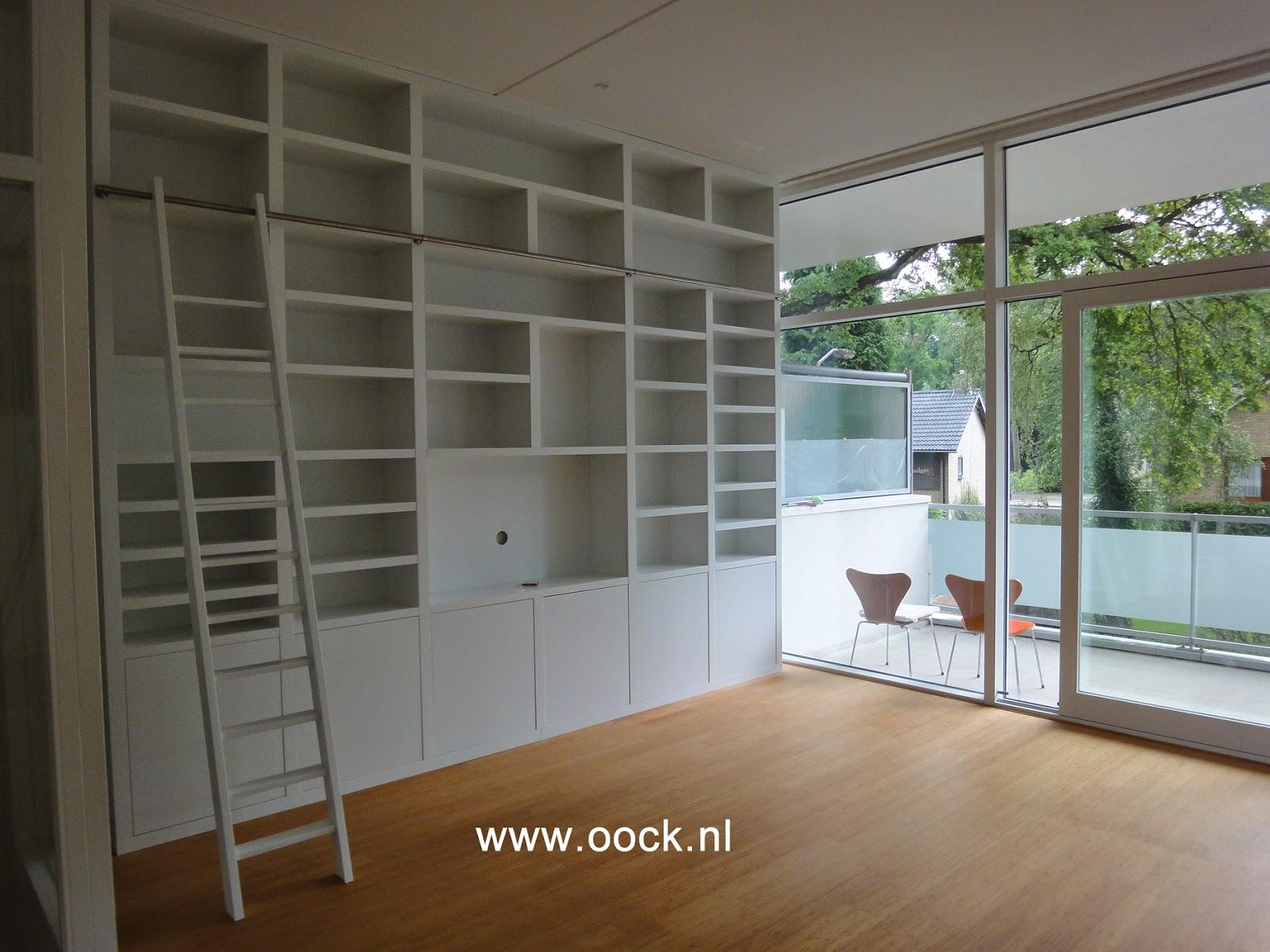 Interieurbouw trends in maatwerk boekenkasten - Moderne boekenkast ...