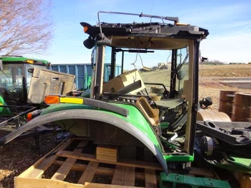 John Deere Tractor Salvage Yards : Tractor and combine salvage update
