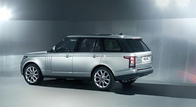 2013 Range Rover Rear