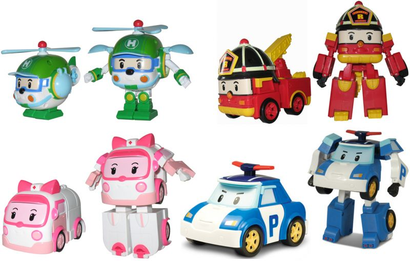 Bongbongidea robocar poli toys transform to robot clearance - Robocar poli ambre ...