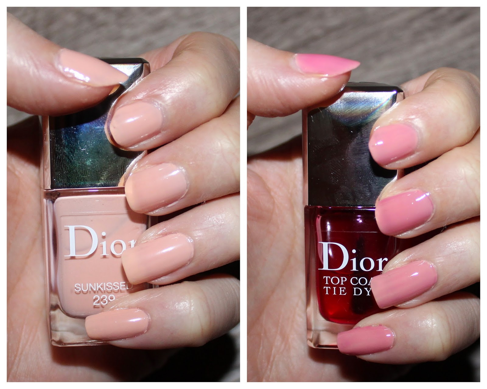 Dior Vernis Sunkissed & Tie Dye Top Coat