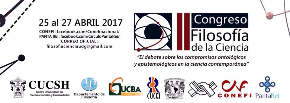 II Congreso de Filosofía de la Ciencia en Jalisco