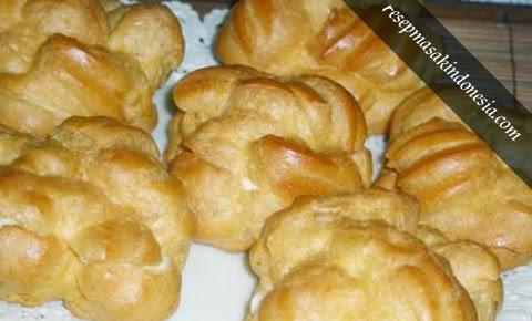 Resep Kue Sus - Masakan Khas Bandung