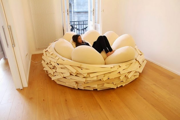 soft egg-shaped pillows, OGE Creative Group