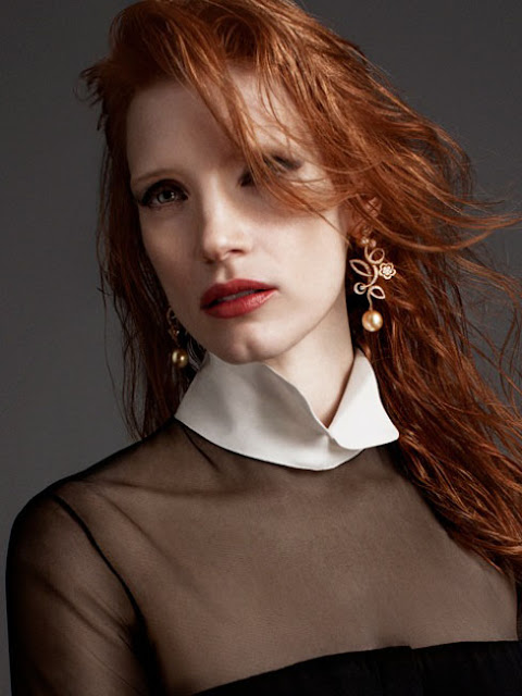 Jessica Chastain by Blossom Berkofsky for Crash Magazine