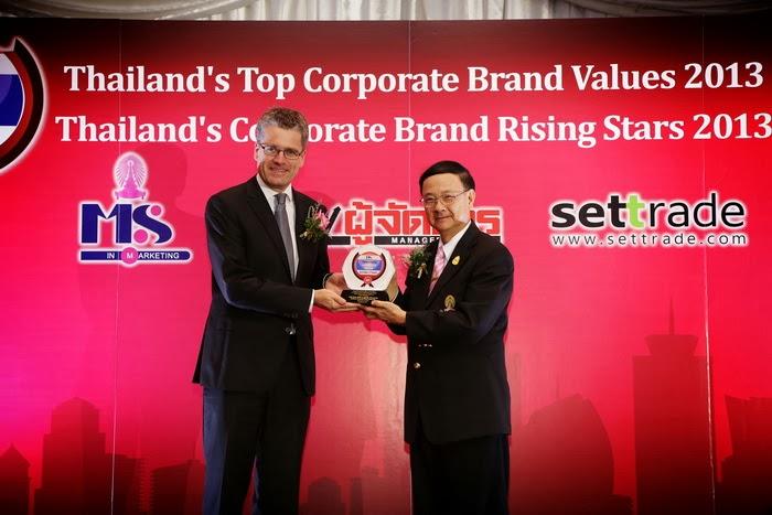 ดีแทคปลื้มคว้ารางวัล Thailand's Corporate Brand ....