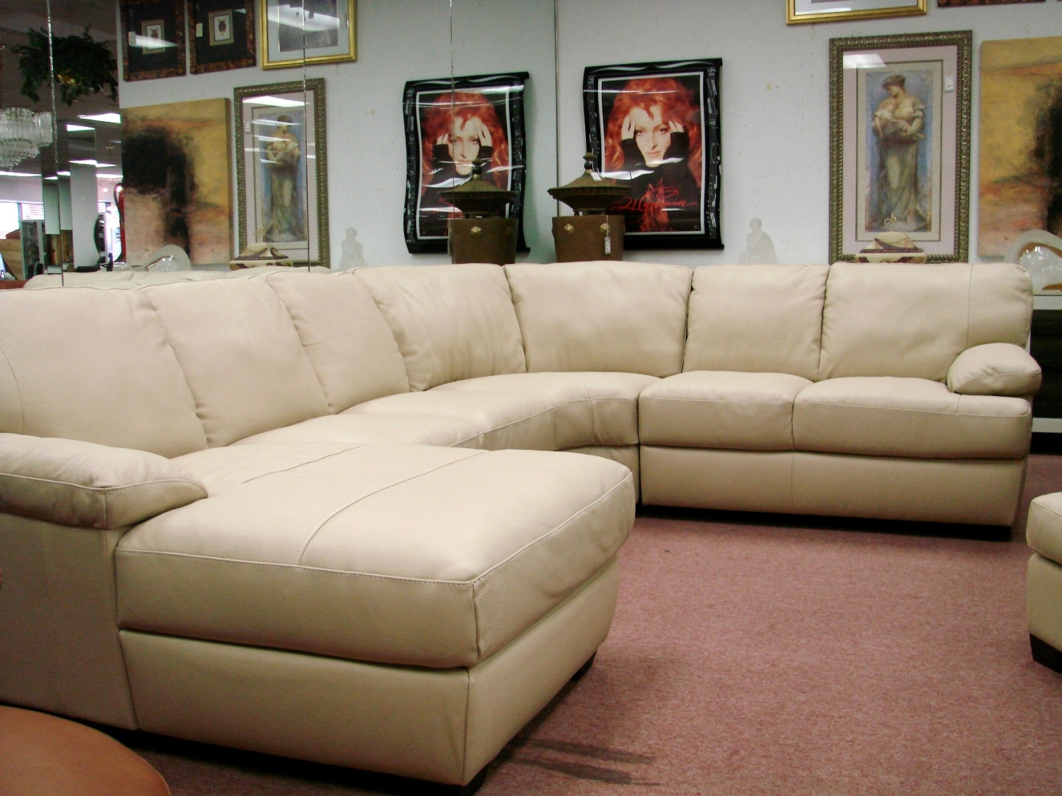 Natuzzi Leather Sofas Sectionals By Interior Concepts Furniture Natuzzi Sectional
