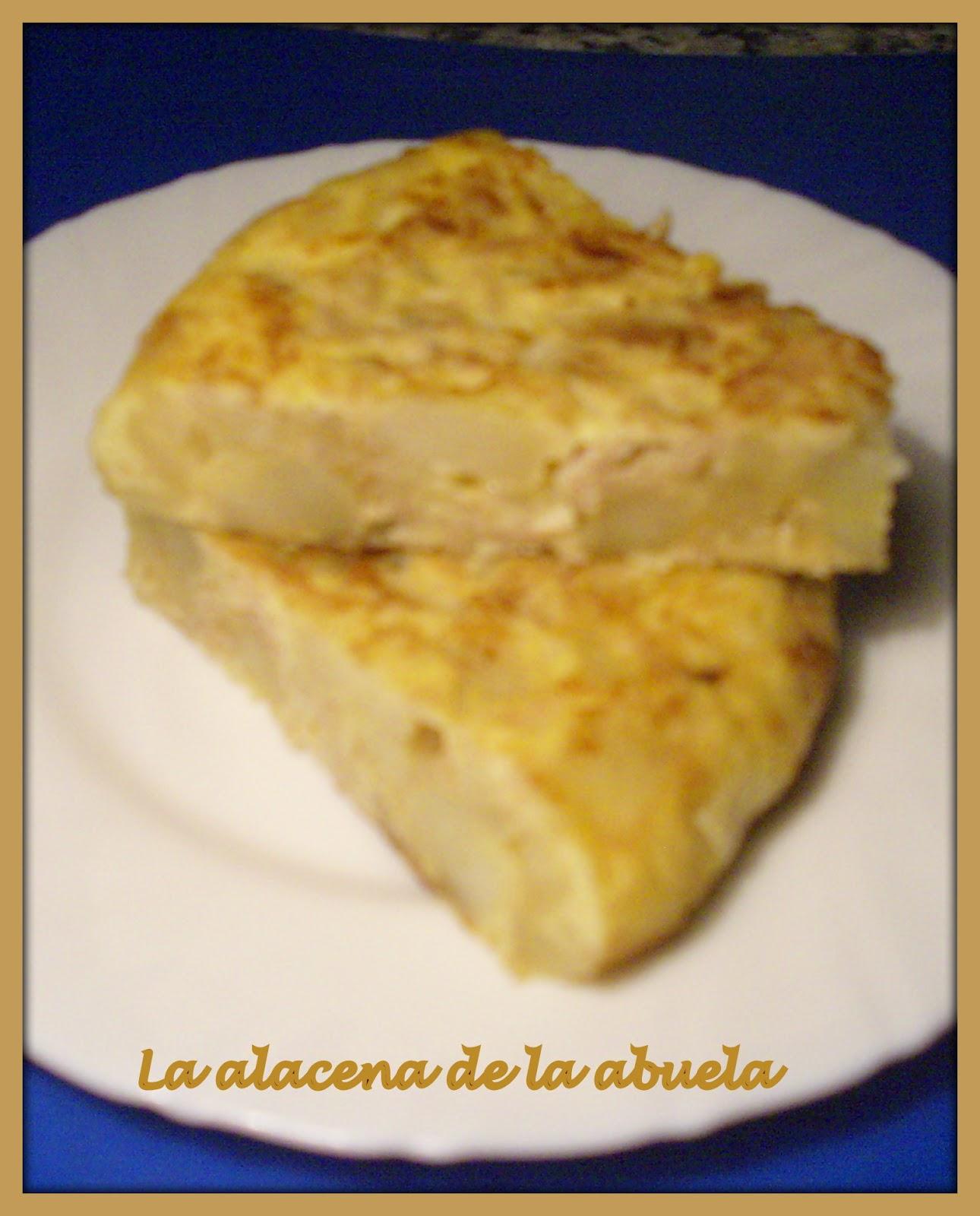 La alacena de la abuela carmen tortilla cant brica for Cocina casera de la abuela