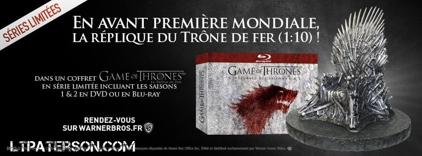 Coffret Blu Ray Game of Thrones Game of Thrones Season 1 Blu
