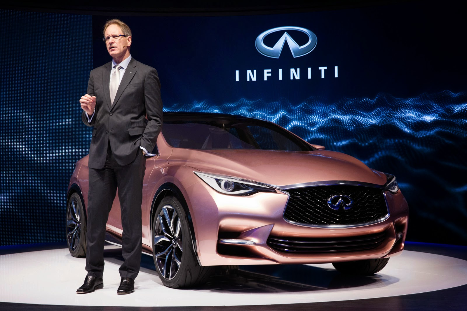 Infiniti Boss Quits After Two Years