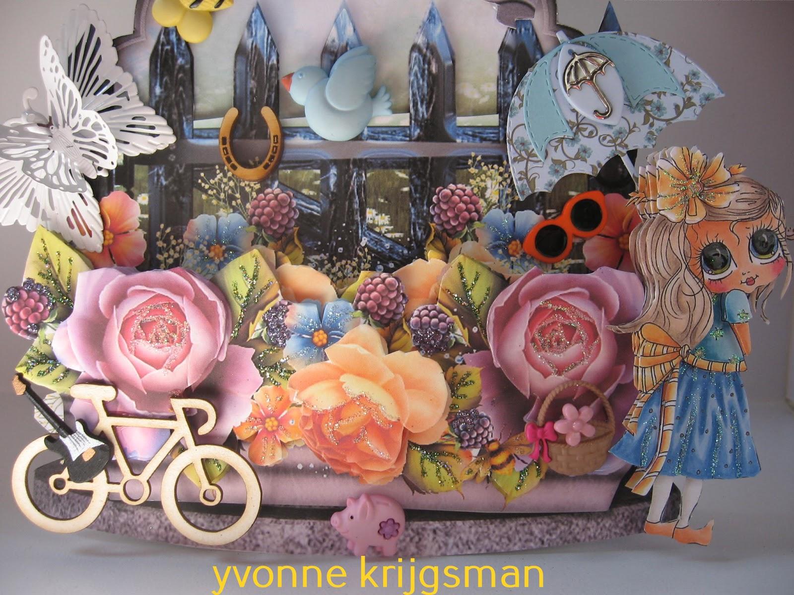 Yvonne3dcard - Zon parasol ...