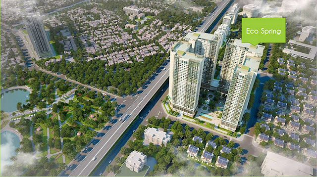 Hình ảnh tòa nhà Eco Spring của Eco Green City