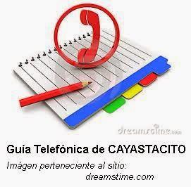 Guía Telefónica de Cayastacito