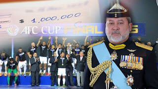 Piala AFC: Sultan Johor derma RM1 juta