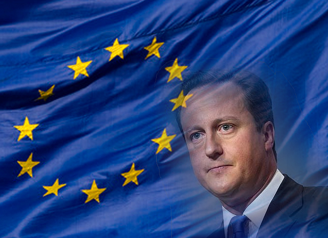 David Cameroon and EU