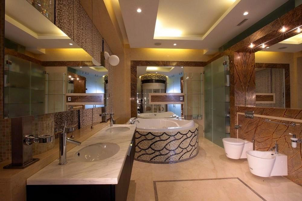 Latest tips for false ceiling designs for bathroom interior