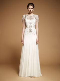 Jenny Packham vintage art deco bridal dress