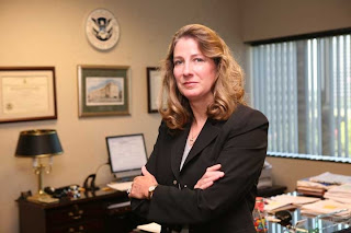 Nancy Kratzer, retired Deputy Special Agent in Charge of Homeland Security Investigations in Dallas.