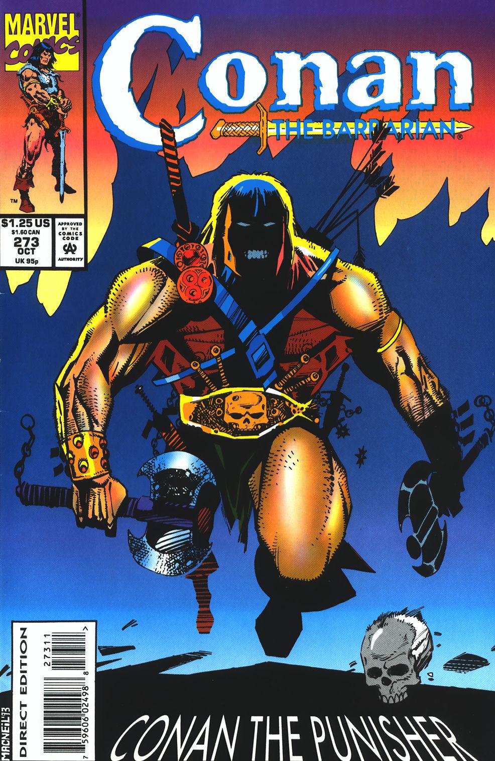 Conan the Barbarian (1970) Issue #273 #285 - English 1