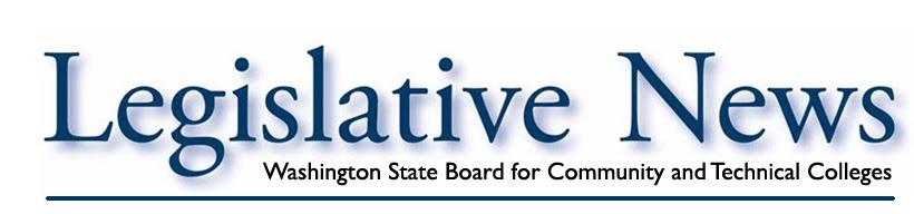 SBCTC Legislative News