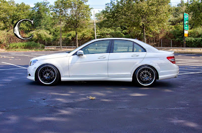 Mercedes benz w204 c300 on cordon wheels benztuning for Mercedes benz c300 black rims