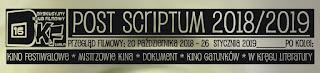 Przegląd filmowy POST SCRIPTUM