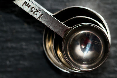 Measure- A Photograph of measuring spoons