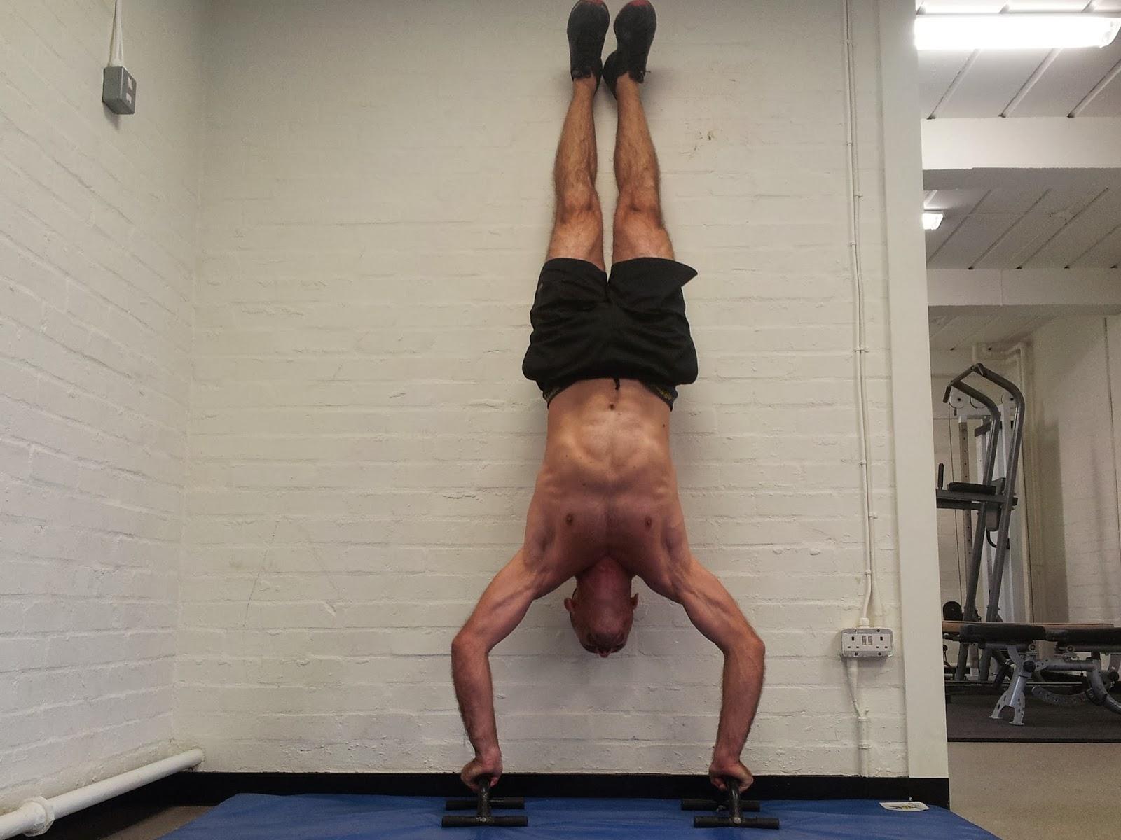 Start Bodyweight Training: Handstand - 204.7KB