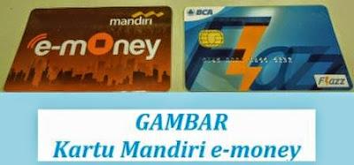gambar uang elektronik mandiri e-money