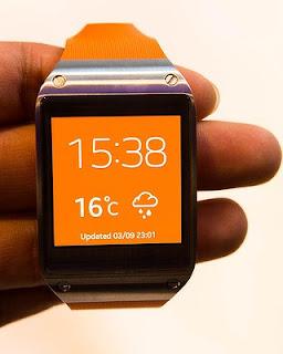 Samsung Galaxy Gear orange Smartwatch