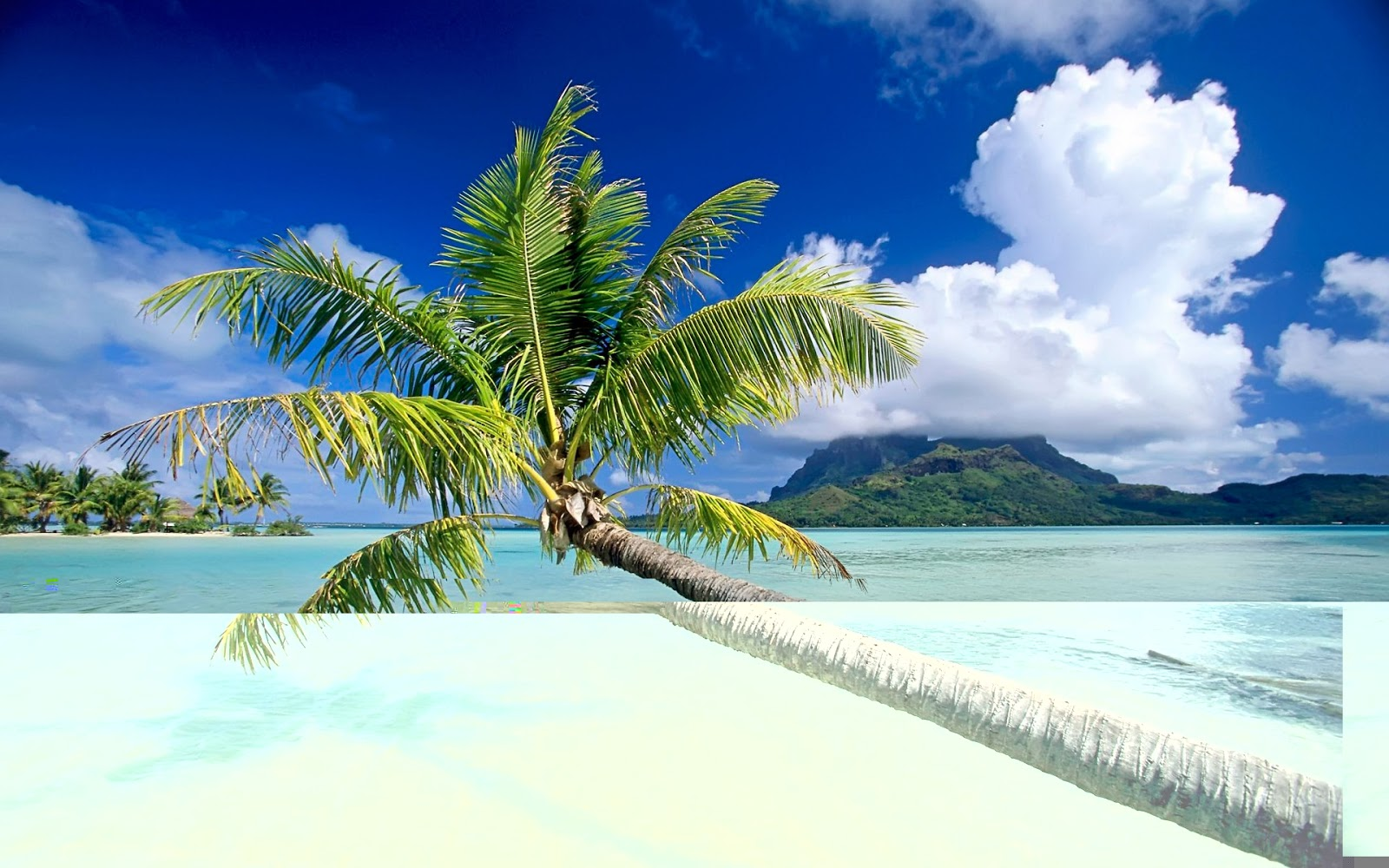 Tropical beach most famous places for Tropical vacation places in the us