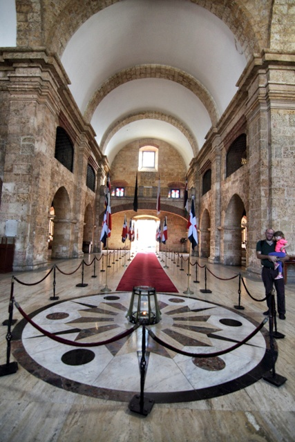 Panteón de la Patria en Santo Domingo