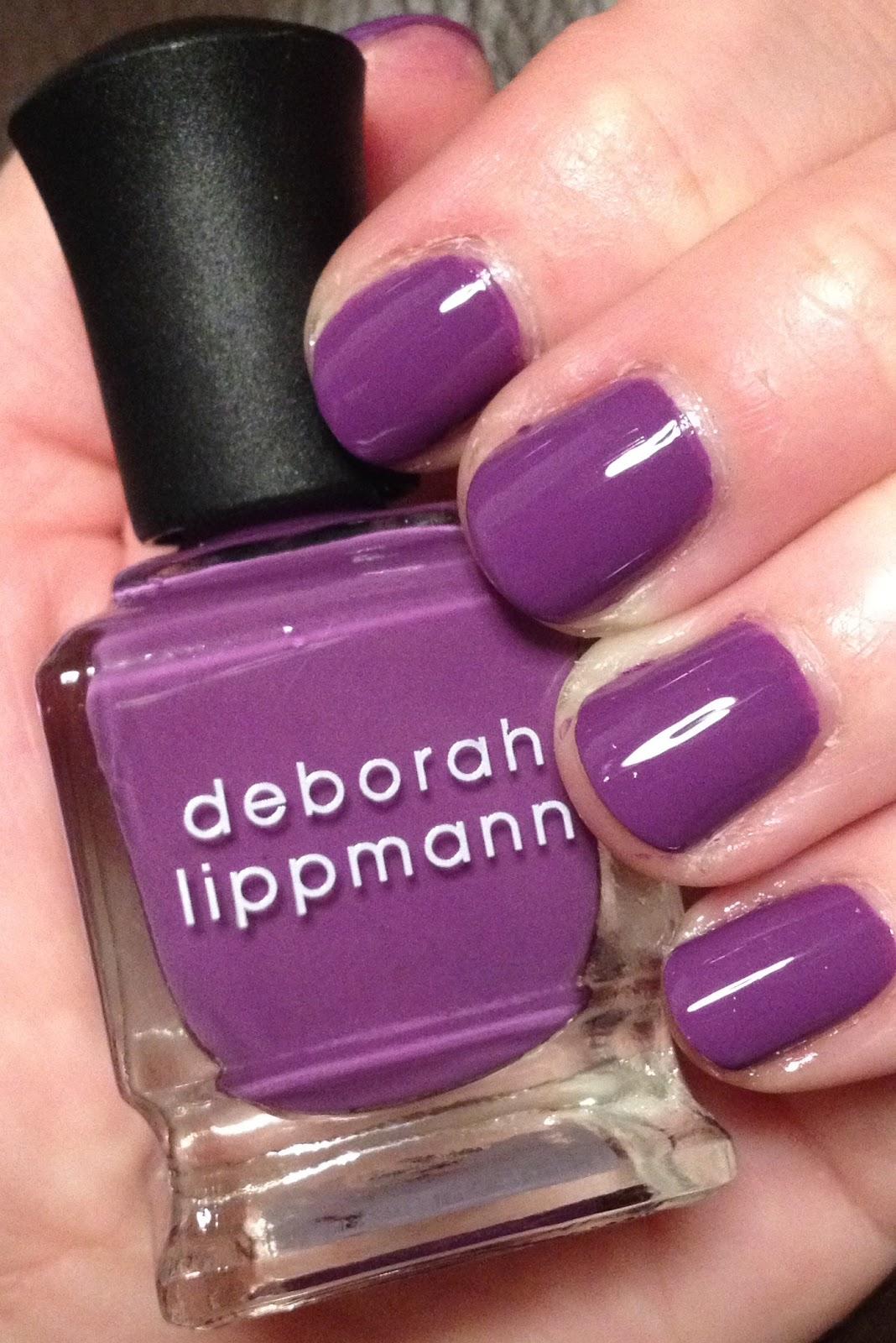 The Beauty of Life: #ManiMonday: Deborah Lippmann Maniac from the ...