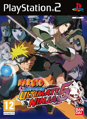 Naruto Ultimate 5 Code Cheat for PS2