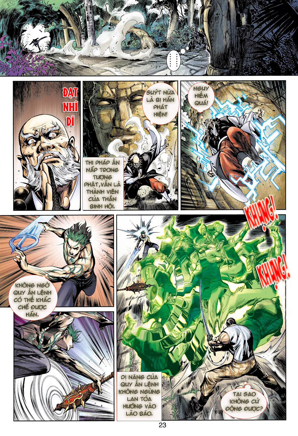 Thần Binh 4 chap 23 - Trang 23