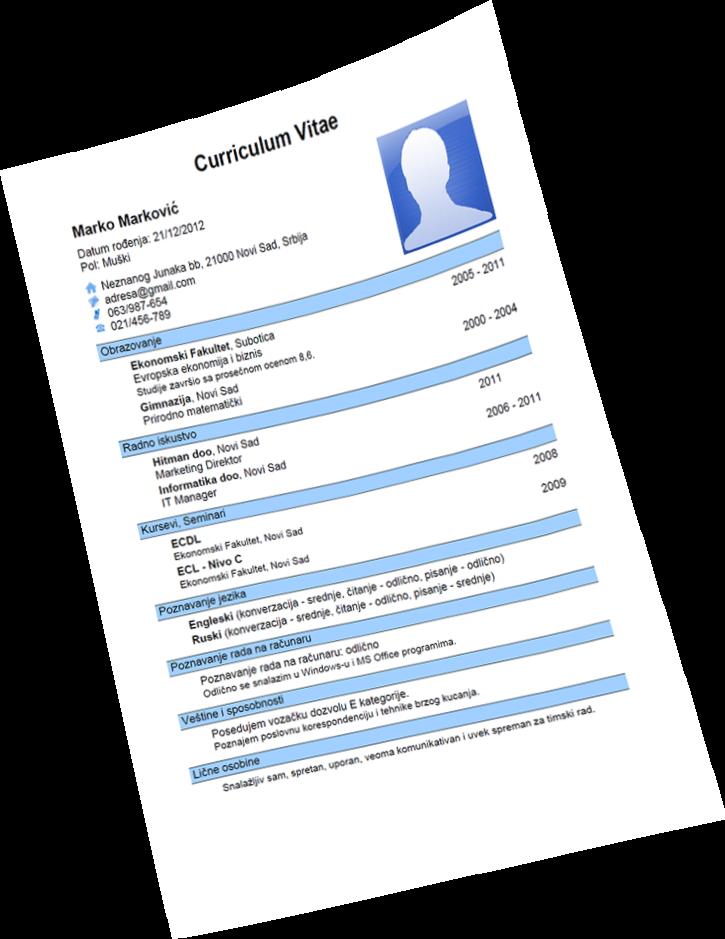 Contoh Curriculum Vitae Cv Dalam Bahasa Inggris Miungcom