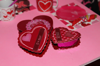 Make Valentine Treat Boxes