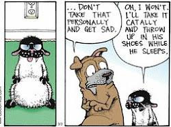 Get Fuzzy  ( the best comic strip!)
