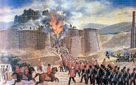 First Afghan Wars