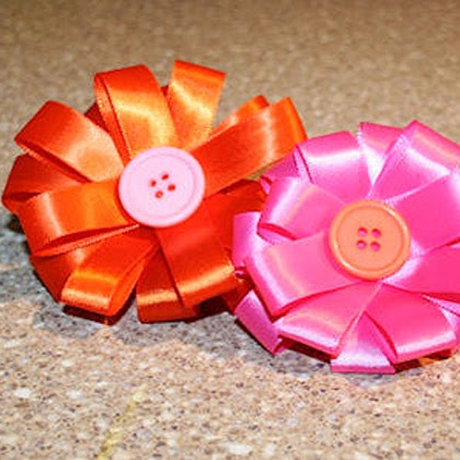 How To Make Ribbon Flower